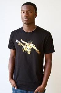 Bruce Lee Action ブルース・リーアクションTシャツ (アメリカ製Tシャツ)