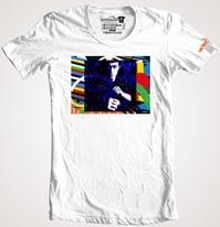 Bruce Lee Marok Shirt ブルース・リーアート Marok Tシャツ (アメリカ製Tシャツ)
