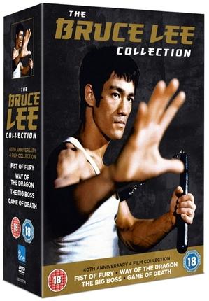 40周年記念ブルース・リーコレクション DVD-BOX (イギリス盤)