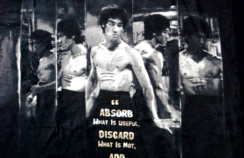 ブルース・リー「鏡の部屋」シーンTシャツ