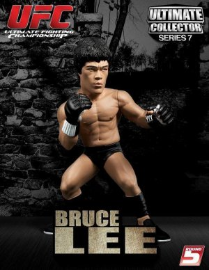 UFC ULTIMATE COLLECTORS SERIES 7 BRUCE LEE ROUND 5 フィギュア